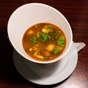 Hot and spicy soup