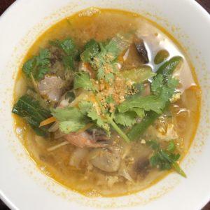 Glassnoodle soup (Big bowl)