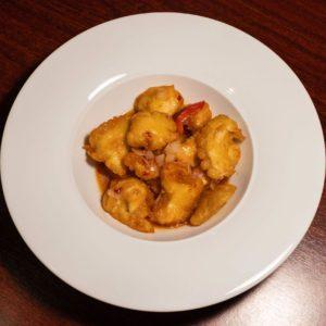 Bundás csirke édes-csípős tamarind szósszal
